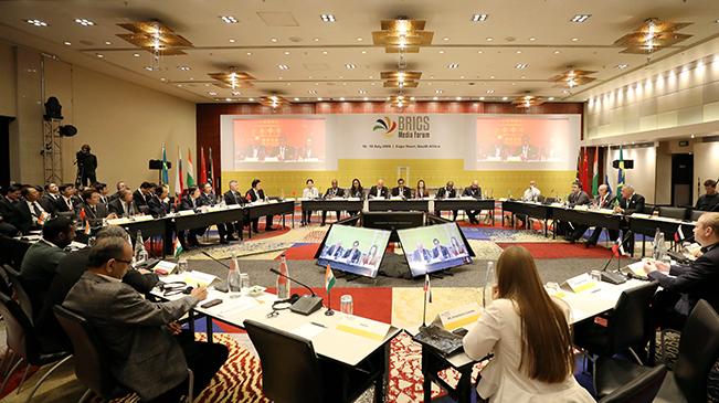 БРИКС-ын орнуудын хэвлэл мэдээллийн дээд хэмжээний III форум Өмнөд Африкт өндөрлөв