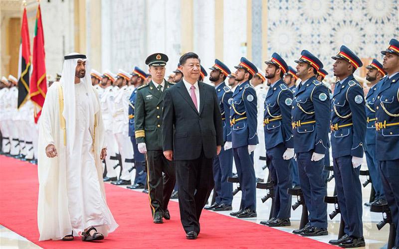 АНЭУ Ши Жиньпин даргыг хүндэт ёслолоор хүлээн авав