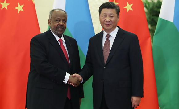 Ши Жиньпин Жибутигийн Ерөнхийлөгчийг хүлээн авч уулзав