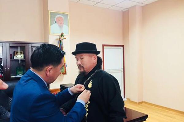 Монгол Улсаас Хөх хотод суугаа Ерөнхий Консулын газар шагналын хур буулгав