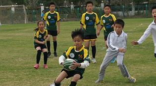 """Бүх Хятадын залуу багачуудын """"Touch rugby"""" бөмбөгийн аварга шалгаруулах тэмцээн Хөх хотод нээлтээ хийлээ"""
