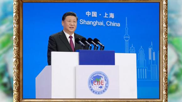 Хятадын олон улсын импортын анхдугаар экспогийн шижир алтан цаг мөц