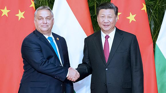 Ши Жиньпин Унгарын ерөнхий сайд Орбаныг хүлээн авч уулзав