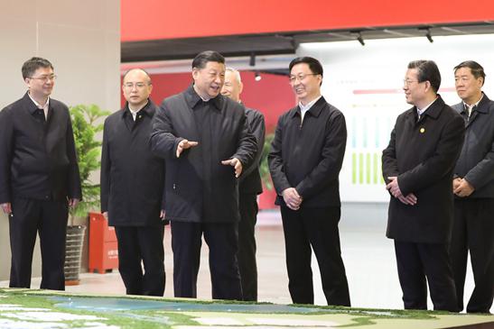 Ши Жиньпин дахин Шюнаньд ажиллав