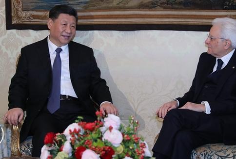 Ши Жиньпин дарга Италийн Ерөнхийлөгч Маттареллатай уулзалт хийв