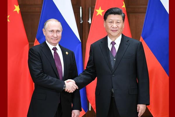 Ши Жиньпин Путинтэй уулзлаа