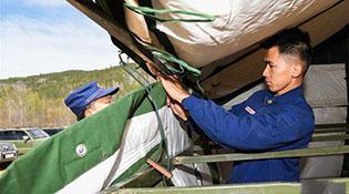 Өвөр монголын ойн гал унтраах анги Их Хянганы даваанд 3 сар байрлана