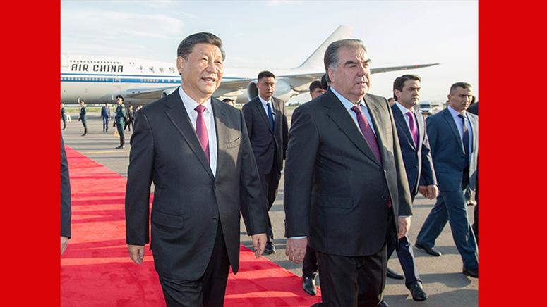 Ши Жиньпин Душанбед хүрэлцэн очлоо