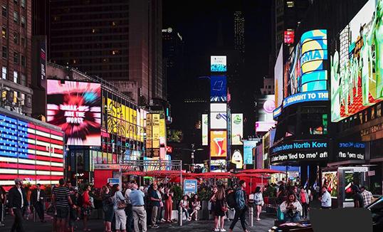 """Шөнийн Нью-Йоркийн """"Таймс"""" талбай"""