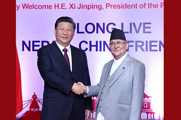 Ши Жиньпин Балба улсын Ерөнхий сайд Олитай хэлэлцээ хийв