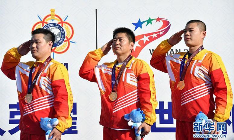 Хятадын баг Дэлхийн цэргийн спортын наадмаас анхны алтан медалиа гардлаа