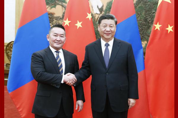 Ши Жиньпин Монгол Улсын Ерөнхийлөгч Х.Баттулгатай уулзав