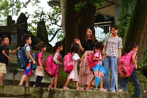 Мяо үндэстний тосгоны зун цаг