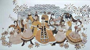 Хусны холтосыг уран бүтээл болгон амилуулсан Шие Цайюнь